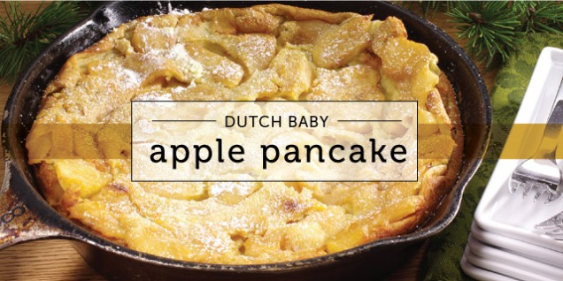 Dutch Baby Apple Pancakes